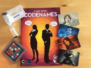 Codenames Spiel des Jahres Inhalt