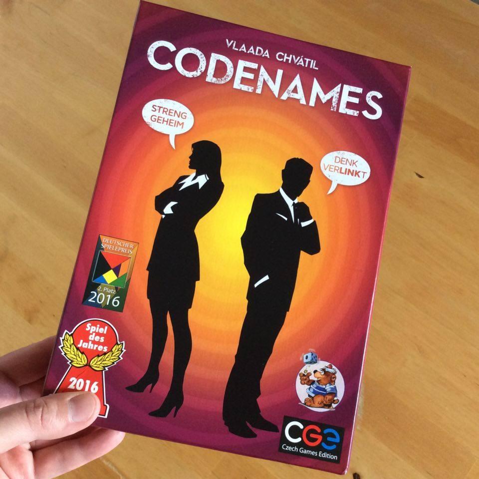 Codenames Spiel Des Jahres 2016 Ausf 252 Hrlich Getestet