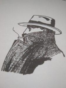 Krimidinner Zeichnung