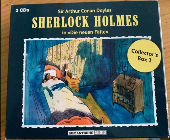 Sherlock Holmes die neuen Fälle CD Box