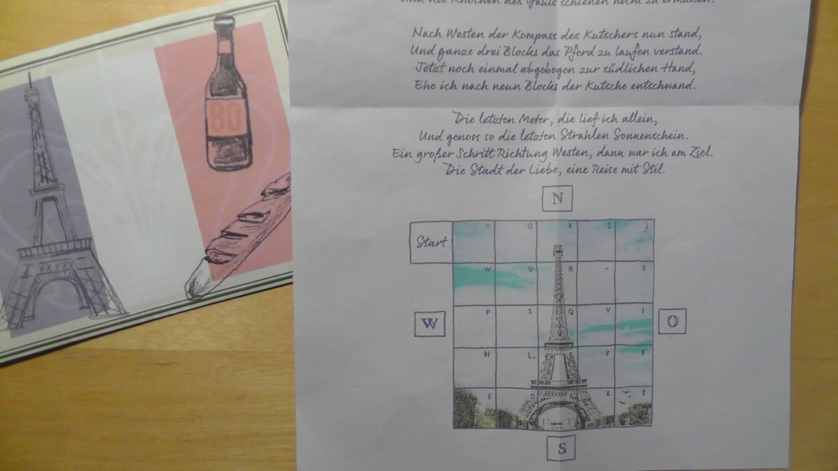 Unser erstes Escape Spiel war ein Escape Adventskalender